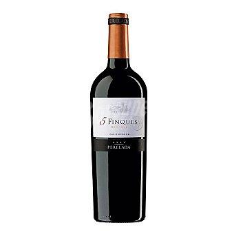5 FINQUES Vino tinto reserva DO Empordá Botella 75 cl