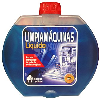 Bosque Verde Limpiamaquinas lavavajillas líquido Botella 250 cc