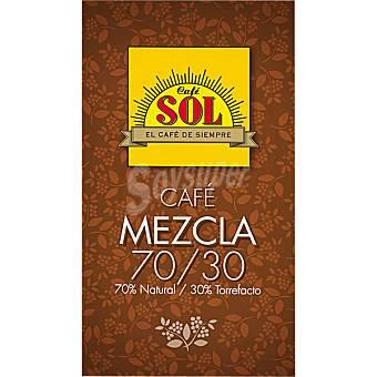 Sol Café molido mezcla 70-30 Bolsa 250 g