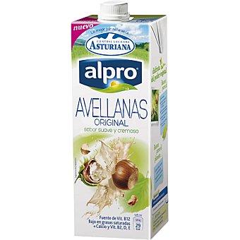 ASTURIANA ALPRO Bebida de abellana baja en grasas con calcio y vitamina B2,D y E  envase de 1 L