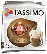 Café con leche Marcilla Bolsa 16 cápsulas Tassimo