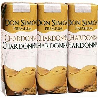 Don Simón Selección vino blanco chardonnay x25 envases 75 cl pack 3