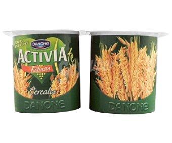 Activia Danone Yogur Bífidus con Cereales 4 Unidades de 125 Gramos