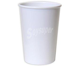 TABERSEO Vaso con capacidad de 32.6 centilitros y fabricado en melamina de color blanco 1 Unidad
