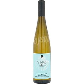 VIÑAS ALTAS Vino blanco albariño D.O. Rías Baixas elaborado para grupo El Corte Inglés botella 75 cl Botella 75 cl