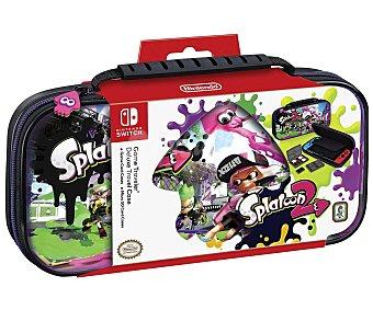 Nintendo Funda de transporte Deluxe con diseño de Splatoon 2 para Switch, ardistel