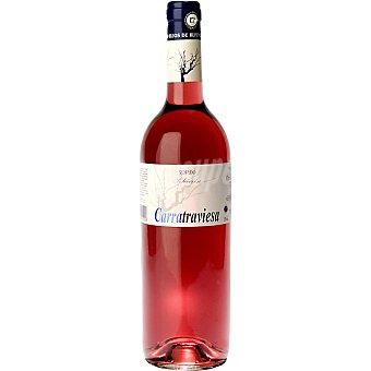 CARRATRAVIESA Vino rosado de Castilla y León botella 75 cl