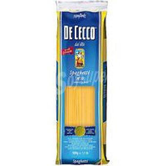 De Cecco Pasta Spaghettini nº 12 Paquete 500 g