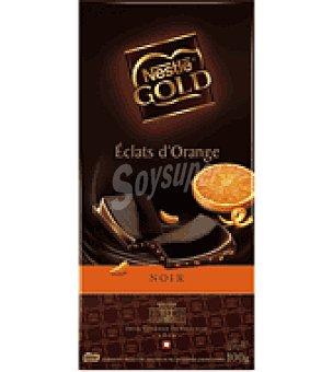 Nestlé Chocolate gold con naranja 100 g