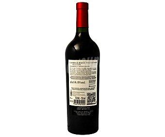 CABALLERO DE LA CEPA Vino Tinto de Mendoza 750 Mililitros