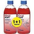 Enjuague bucal Pack 2x500 ml Oralkin