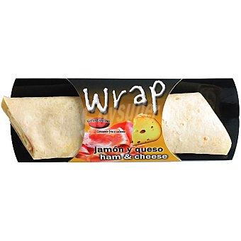 Fresquisimo Wrap de jamón y queso Envase 195 g