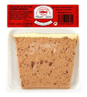 Salazones Serrano Pate pato con jamon iberico 80 g