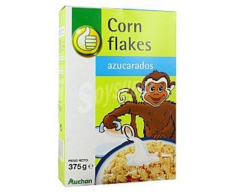 Productos Económicos Alcampo Copos de maíz tostados y azucarados 375 gramos