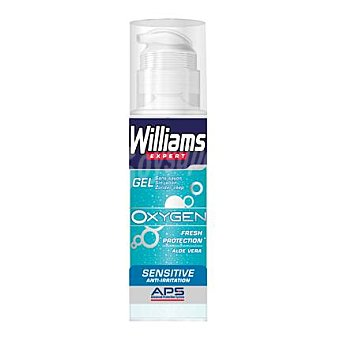 Williams Gel de afeitar Oxygen sensitive 150 ml