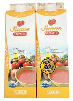 Hacendado Gazpacho suave (brick amarillo) 2 x 1 l