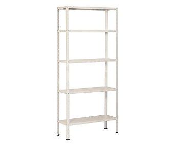 KIT Hogar estantería en color blanco, simon