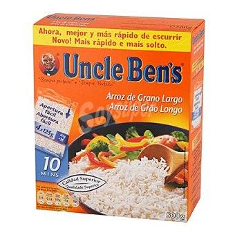 Uncle Ben's Arroz largo bolsa 500 g
