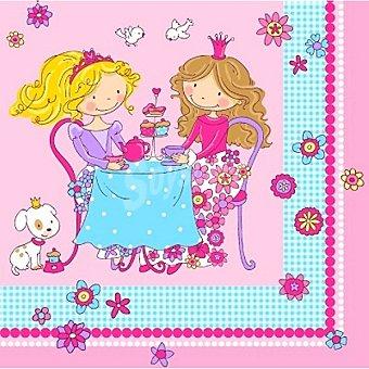 Papstar Servilletas Princess Friends 3 capas 33x33 cm Paquete 20 unidades