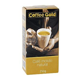 Coffee gold Café molido natural Paquete 250 g