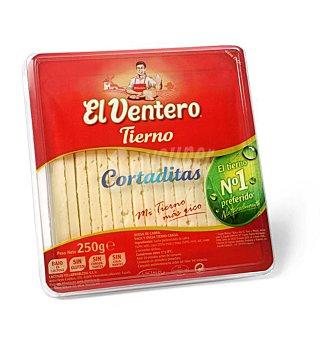 El Ventero Queso tierno cortaditas Envase 250 g