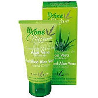 LIXONE Nature Crema de manos-uñas de aloe certifica Tubo 75 ml