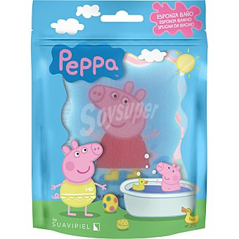 Suavipiel Esponja de baño Peppa Pig bolsa 1 unidad Bolsa 1 unidad