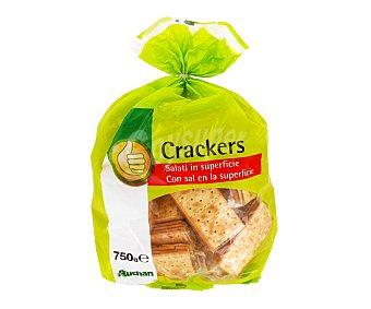 Productos Económicos Alcampo Crackers Con Sal 750 gramos