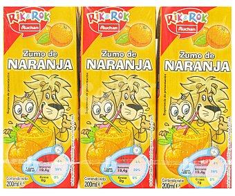 Auchan Zumo de Naranja Brik 6 unidades