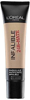 L'Oréal Base de maquillaje infalible 24h mate nº 024 1 ud