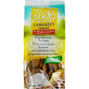 Santiveri Galletas artesanas de cereales sin azúcar Bolsa 150 g