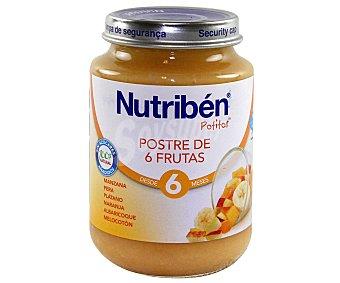 Nutribén Potito postre frutas 200 g