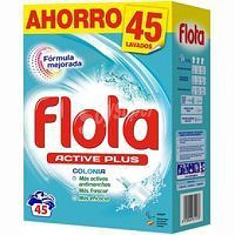 Flota Detergente en polvo Colonia Maleta 45 dosis
