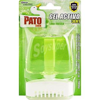 Pato Desinfectante wc gel verde aparato + recambio