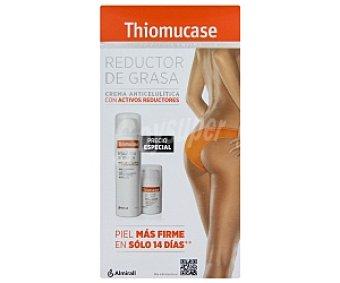 Thiomucase Tratamiento anti celulítico en loción con activos reductores, kit 250 Mililitros + 50 Mililitros 200ml