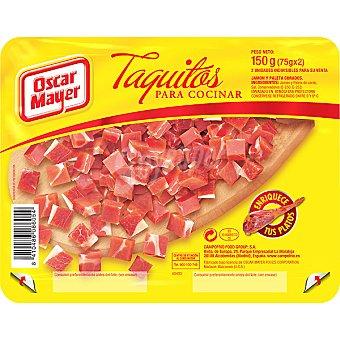 Oscar Mayer Taquitos de jamón Pack 2 envases 75 g