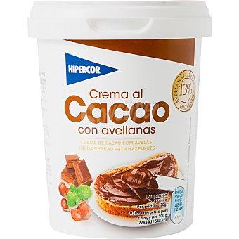 Hipercor Crema de cacao con avellanas Bote 500 g