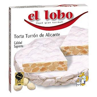 El Lobo Torta de Turrón de Alicante 200 g