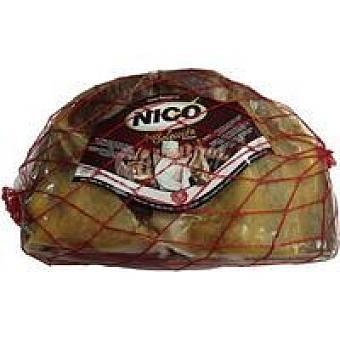Nico Deshuesado de paleta serrana en mitades Mitades