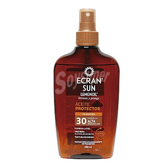 Ecran Aftersun Aceite solar lemonoil spf 30 spray 200 ml 30 spray 200 ml
