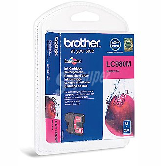 BROTHER LC980M Cartucho de tinta color magenta