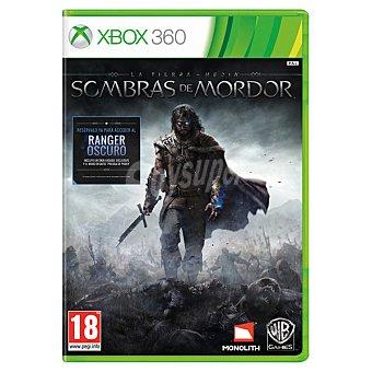 XBOX 360 Videojuego La Tierra Media: Sombras de Mordor  1 unidad