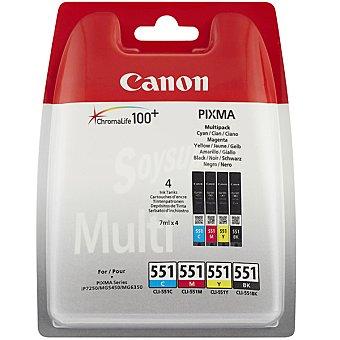CANON CLI-551 Cartucho de tinta multipack