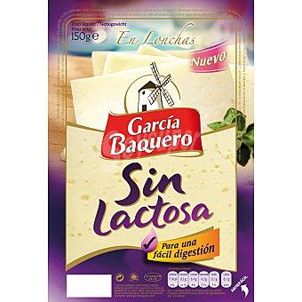 García Baquero Queso en Lonchas Sin Lactosa 150 Gramos