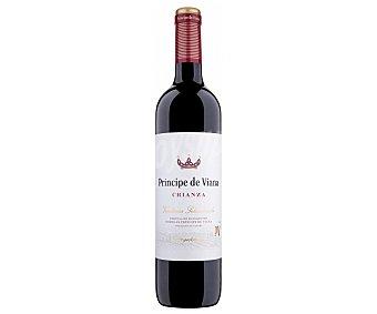 Principe de Viana Vino tinto crianza con denominación de origen Navarra vendimia seleccionada Botella de 75 cl