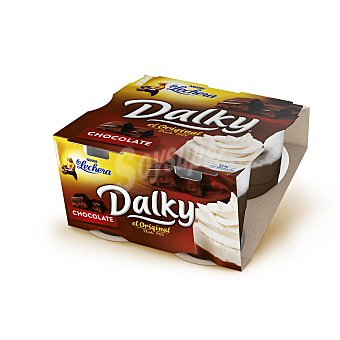 La Lechera Nestlé Dalky de chocolate Pack 4x100 g