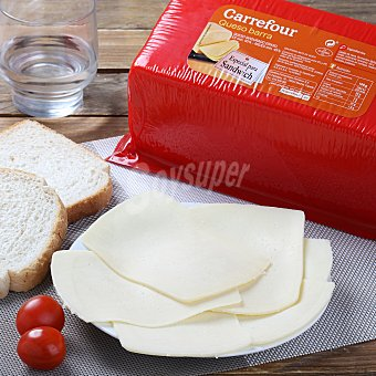 Carrefour Queso edam Sobre de 250 g. aprox