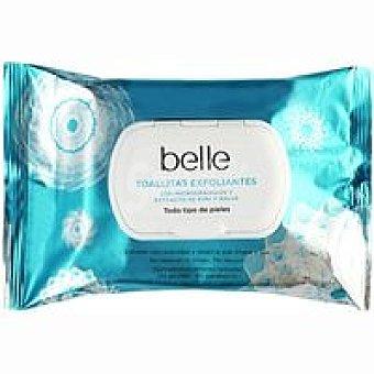 Belle Toallita exfoliante Paquete 20 unid