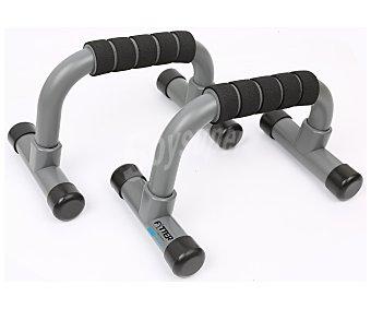 Fytter Barras de apoyo para flexiones con agarre antideslizante 2 unidades