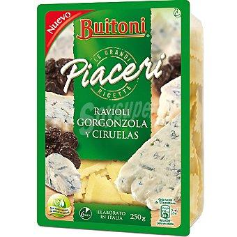 Buitoni Ravioli a la gorgonzolla-ciruelas Bandeja 250 g